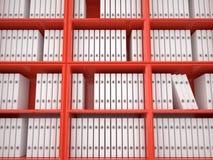 Organizing files, 3D Royalty Free Stock Photo