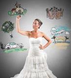 Organizing a wedding Royalty Free Stock Photo