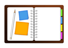Organizzatore illustrazione vettoriale