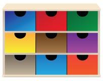 Organizzatore della scatola illustrazione vettoriale