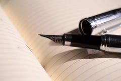 Organizzatore e penna fotografia stock libera da diritti