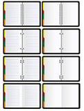 Organizzatore personale Immagini Stock