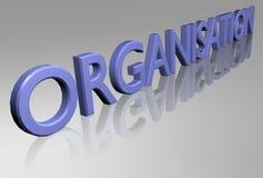 Organizzazione Fotografia Stock Libera da Diritti