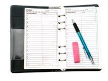 Organizzazione in anticipo Fotografia Stock