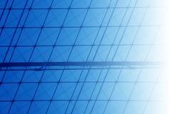 Organizzazione della priorità bassa blu Immagine Stock Libera da Diritti