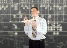 Organizzazione della progettazione Immagine Stock