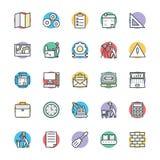 Organizzazione delle icone fresche 2 di vettore royalty illustrazione gratis