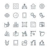 Organizzazione delle icone fresche 3 di vettore royalty illustrazione gratis