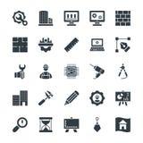 Organizzazione delle icone fresche 1 di vettore illustrazione vettoriale