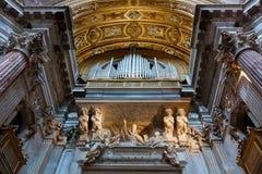 Organkirche Lizenzfreie Stockfotos