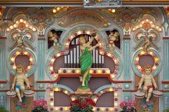 Organo antiquato di musica immagine stock