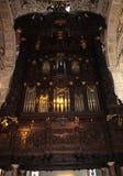 Organo chiesa royaltyfri bild