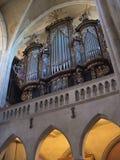 Organo della chiesa Fotografie Stock