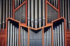Organo della chiesa Fotografia Stock Libera da Diritti
