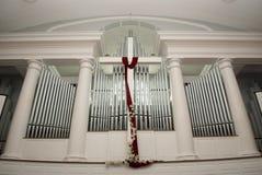 Organo della chiesa Immagini Stock