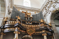 Organo della chiesa dei san Peter e di Paul Immagine Stock Libera da Diritti