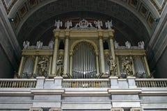 Organo gigante Fotografia Stock Libera da Diritti