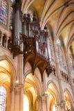 organowa Chartres katedralna drymba zdjęcia stock