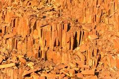 Organowe drymby - Twyfelfontein, Damaraland, Namibia Zdjęcia Royalty Free