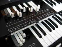Organtangentbord Arkivbilder
