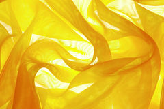 Organza #20. Background from a fabric with folds, illumination behind Royalty Free Stock Images
