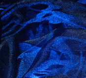 Organza azul Fotos de Stock
