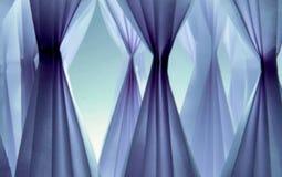 Organza i blått Royaltyfria Bilder