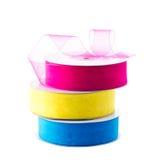 Organza ribbon Stock Photo