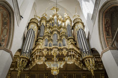 Orgelpfeifen Stockfoto