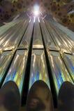 Orgelpfeifen Stockbild