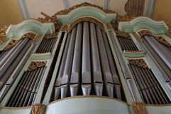 Orgelpfeifen Lizenzfreie Stockbilder