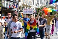 Orgoglio 2012 di Praga Immagine Stock Libera da Diritti