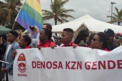Orgoglio 2016 di Durban Fotografie Stock