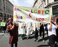 2013, orgoglio di Londra Fotografia Stock Libera da Diritti