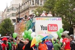 Orgoglio 2014 di Londra Immagini Stock Libere da Diritti