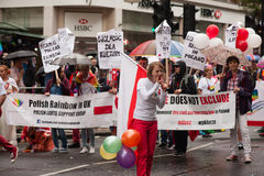 Orgoglio 2014 di Londra Immagine Stock Libera da Diritti