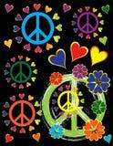 Orgoglio di pace Immagine Stock Libera da Diritti