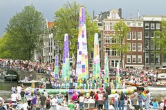 Orgoglio gaio 2011, Amsterdam Immagini Stock Libere da Diritti