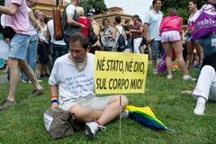 Orgoglio gaio Fotografie Stock Libere da Diritti