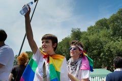 Orgoglio gaio Fotografia Stock Libera da Diritti