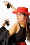 Orgoglio spagnolo Immagine Stock