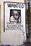 ORGOSOLO L'ITALIA 4 ottobre 2015 Murales in Orgosolo Italia poiché circa 1969 le pitture di parete riflettono gli aspetti differe Fotografie Stock