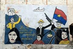Orgosolo murales - Sardinien Lizenzfreies Stockbild