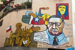 Orgosolo murales - Sardinien Stockfotos