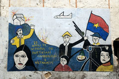Orgosolo murales - Sardinige Royalty-vrije Stock Afbeelding