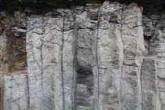 Orgues basaltiques,圣徒面粉,康塔尔省(法国) 免版税库存照片