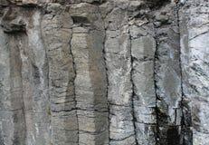 Orgues basaltiques, Helgon-mjöl, Cantal (Frankrike) Arkivbilder