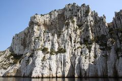 The Orgues calanque. France. Royalty Free Stock Photos
