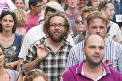 Orgulho 2011 de Budapest Foto de Stock Royalty Free
