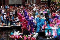 Orgulho alegre 2011 de Amsterdão imagens de stock royalty free